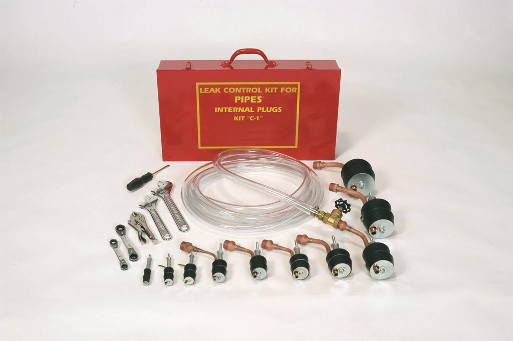 Plug Open Pipes with Pipe Plugger Kit C-1