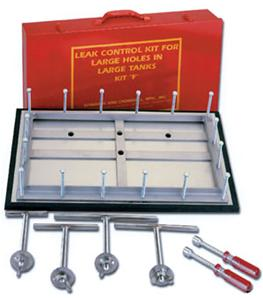 Leak Control Kit for large holes in large tanks