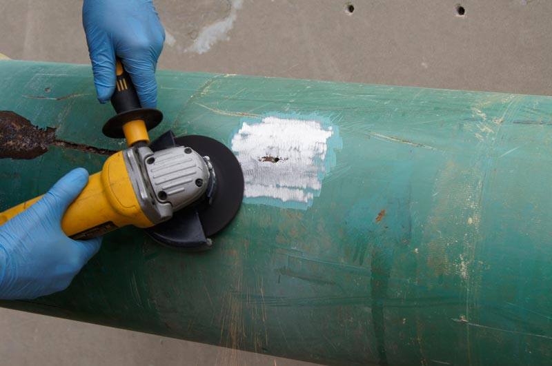 Stop It Flat Patch Leak Repair - Prepping the Surface