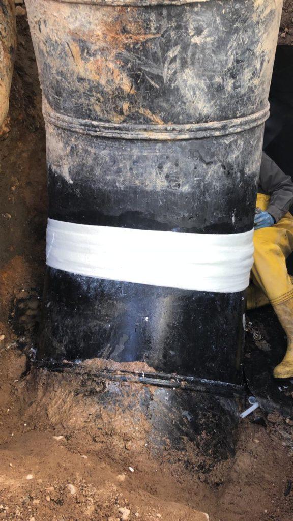 Large Diameter Leak Repair