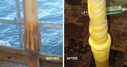 Stop It High-Pressure Leak Sealant for Leak Sealing - Before & After