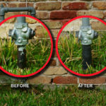 Stop It® Gas Riser Rehabilitation Kit Before & After
