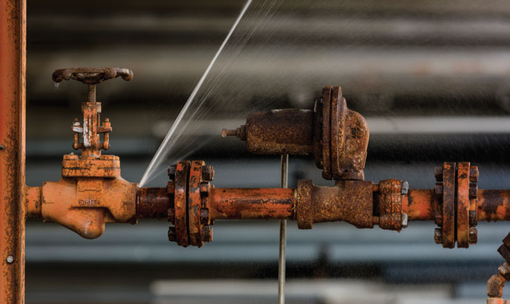 repair chemical, steam, process and water lines