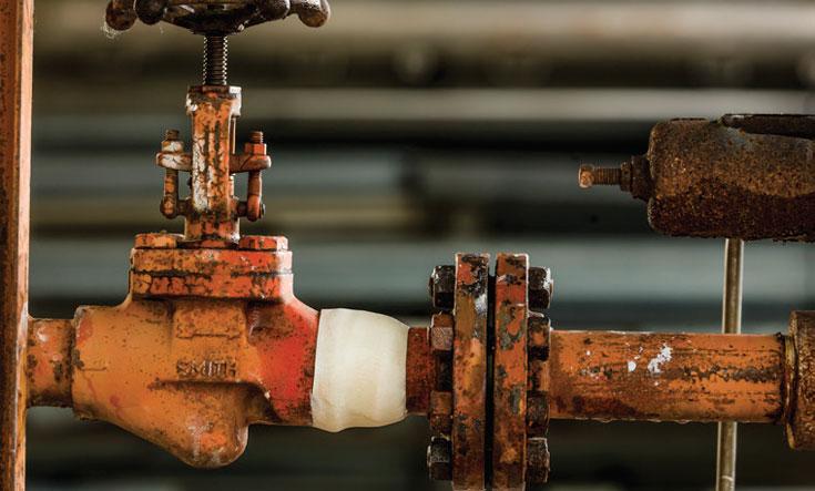 STOP IT® Pipe Repair System fixes cracks and leaks